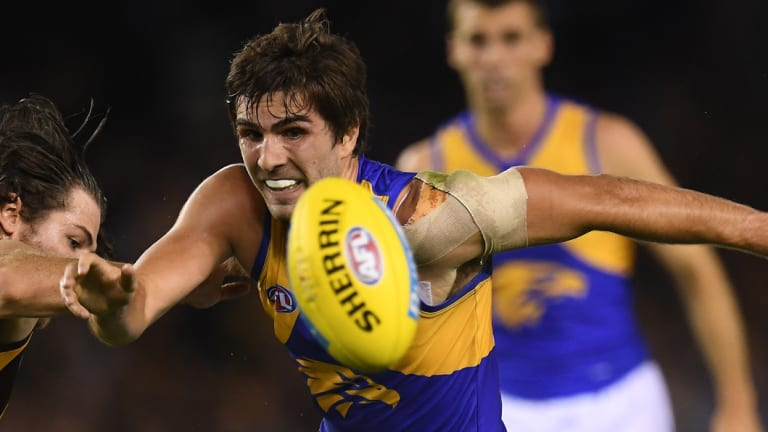 Eagle Andrew Gaff is a free agent at the end of the season.