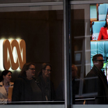 The ABC office in Ultimo. A major plank of the ABC's five-year plan is to bolster its presence  in the regions.