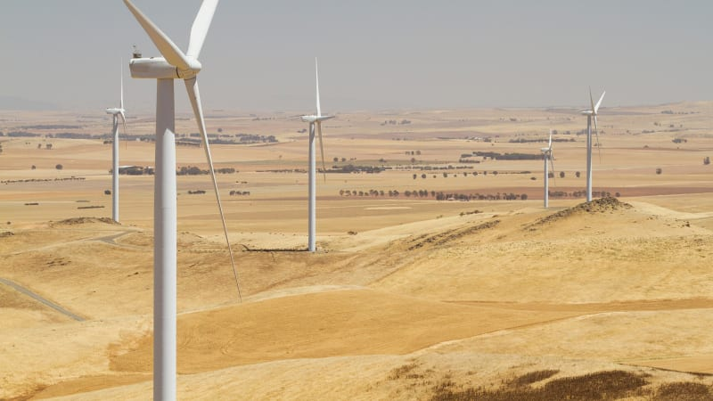 afr.com - Ben Potter - Wind farm nobbled by clean energy boom