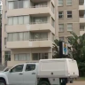 A man has died after a suspected fall from a Gold Coast balcony.