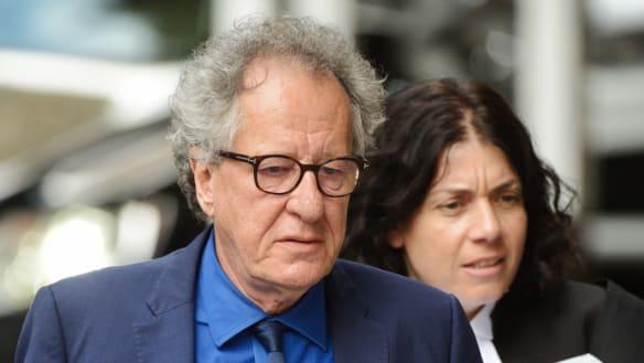 Telegraph 'destroyed' Geoffrey Rush's reputation, court told