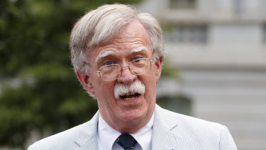 Former national security adviser John Bolton has said he is prepared to testify if subpoenaed.