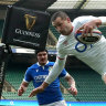 Eddie Jones hails flying 'NRL' try in England win, Wales edge Scotland in thriller
