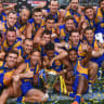 No sign of flag hangover for West Coast