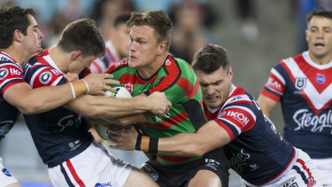 The once-wayward Liam Knight has been a revelation for Bennett's Rabbitohs this season.