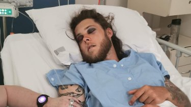 Brandon Orr was allegedly bashed with a cricket bat outside a pub in Ballajura and is fighting for his life.