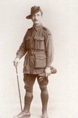 Arthur King, who fought with the Australian troops in World War I.