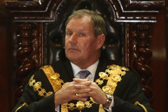 Former lord mayor of Melbourne Robert Doyle.