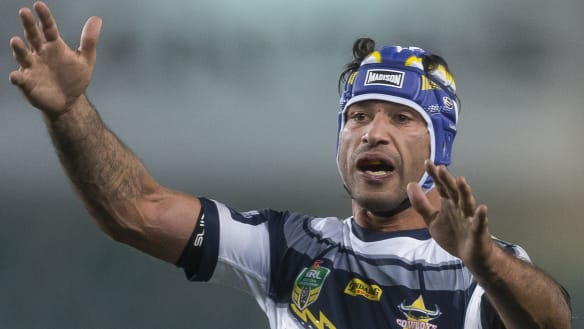 Put down the violins: Thurston tiring of long NRL farewell