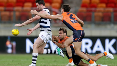 """Patrick Dangerfield believes AFL hubs to restart the season are """"speculative"""" at best."""