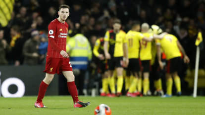 Cellar dwellers Watford end Liverpool's dream of unbeaten season