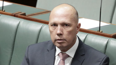 Home Affairs Minister Peter Dutton accused Labor leader Bill Shorten of ignoring advice from security agencies.