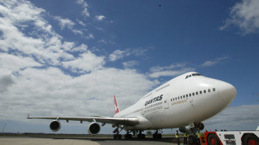 The 747 is one of Boeing's flagship planes.