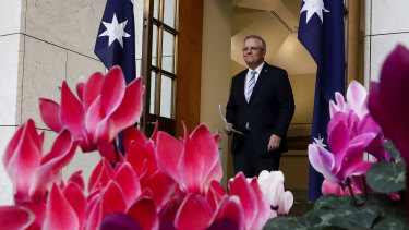 The Aussie dollar was little moved by the ascendancy of Scott Morrison as prime minister.
