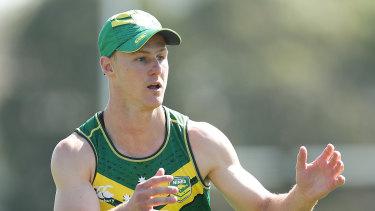 Senior statesman: Kangaroos halfback Daly Cherry-Evans.