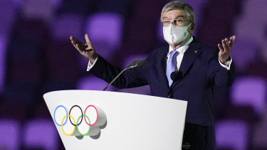 Thomas Bach, president of the International Olympic Committee.