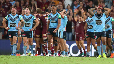 Taking a hit ... the Origin series has lost its lustre on TV in recent years.