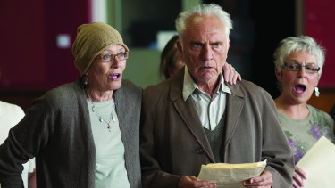 Vanessa Redgrave and Terence Stamp in Song For Marion.
