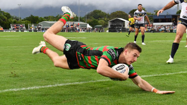 In the frame: Campbell Graham has caught the eye of Brad Fittler.