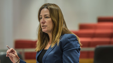 ACT Education Minister Yvette Berry previously resisted calls for a public inquiry into school violence, amid revelations complaints in some schools stretched back more than a year.
