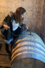 The author on a whisky-discovery mission.