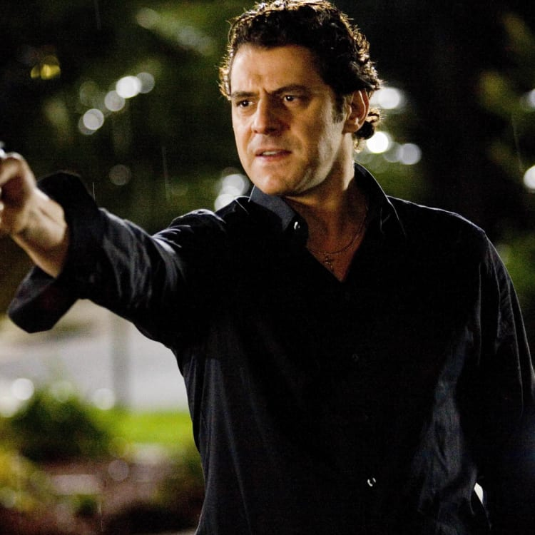 Colosimo was a menacing presence as Alphonse Gangitano in 2008's Underbelly.