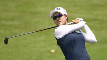 On the rise: Minjee Lee.