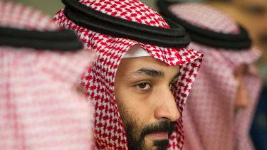 Ruthless rise: Crown Prince Mohammed Bin Salman.