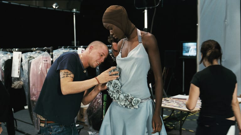 Fashion designer Alexander McQueen 'wanted to show you something you'd never seen before'.