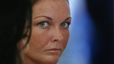 Schapelle Corby at Bali's Magistrates Court.