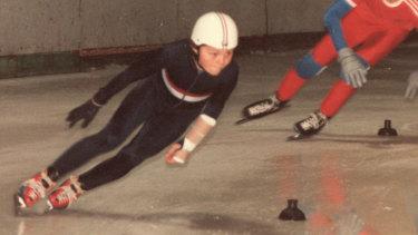 Steven Bradbury as a 12-year-old.