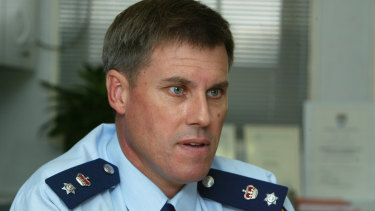 Former Redfern-based policeman Dennis Smith in 2004.