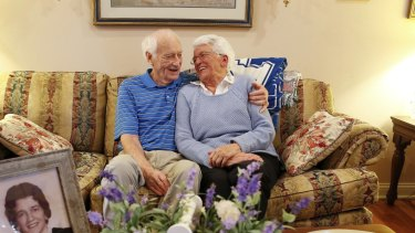 Harold Holland and Lillian Barnes  are getting married again after 50 years.
