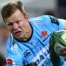 Tahs winger Clark called into Wallabies camp to help fill in for Folau
