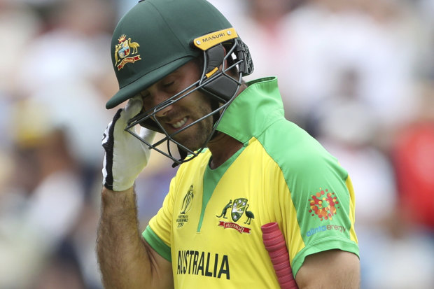 Glenn Maxwell had a disappointing 2019 World Cup campaign in England.