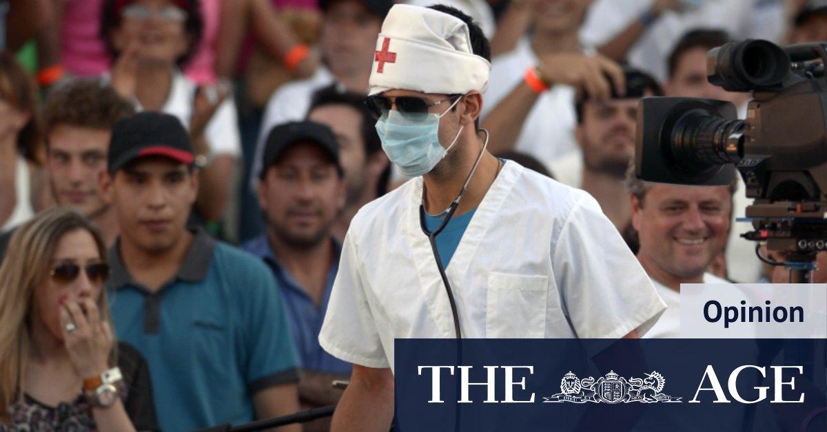Paging Dr Djokovic: public health guru pens prescription for lockdown fever