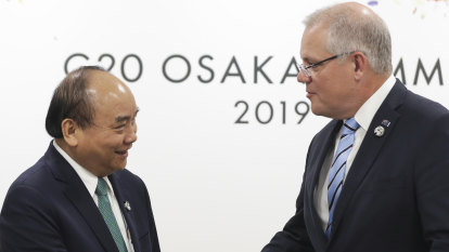 China's rise the subtext of Australia-Vietnam leaders meeting