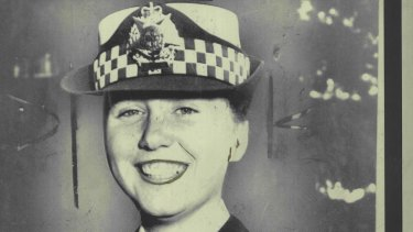 Constable Angela Taylor - victim of the Russell Street bombing.