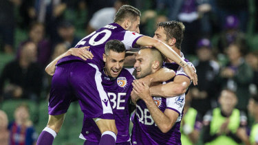 Perth Glory will shoot for grand final glory in front of a record WA crowd at Optus Stadium on Sunday afternoon.