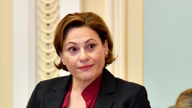 """Mining companies are yet to contribute to Jackie Trad's """"voluntary"""" infastructure fund."""