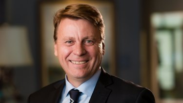 Tom Palmer, CEO and president of gold miner Newmont.