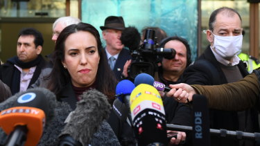 Julian Assange's fiancée Stella Moris has urged the US President to pardon him.