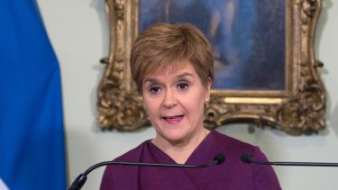 Scottish National Party (SNP) leader and Scotland's First Minister Nicola Sturgeon sets out the case for a second referendum on Scottish independence.