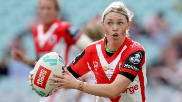 Dragons and NSW Origin star Maddie Studdon is yet to be cleared to take part in the NRLW season.