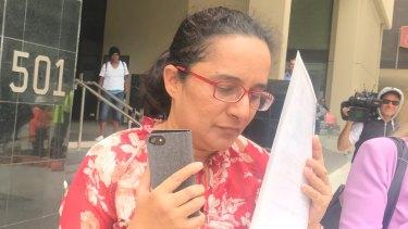 Mamona Nazish breached quarantine twice to buy groceries for her children.