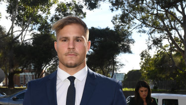 The playing career of St George Illawarra Dragons star Jack de Belin remains in limbo.