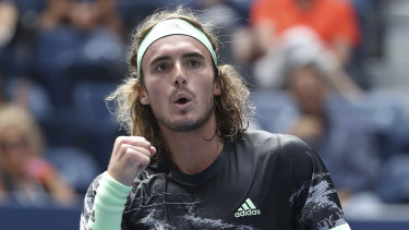 Us Open Tennis 2019 Ranting Stefanos Tsitsipas Crashes Out Against Andrey Rublev