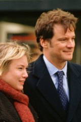 Jane Austen's hero, Mr Darcy, has been reincarnated countless times over the years, including in Colin Firth's portrayal of Mark Darcy in the film versions of Helen Fielding's novel, Bridget Jones's Diary. Seen here, with co-star Renee Zellweger, in the 2004 film, Bridget Jones: The Edge of Reason.