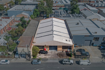The Collingwood warehouse has been in the same family for more than 100 years.