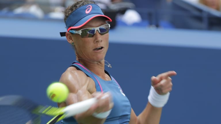 Going nowhere: Sam Stosur plans keep at the singles game.